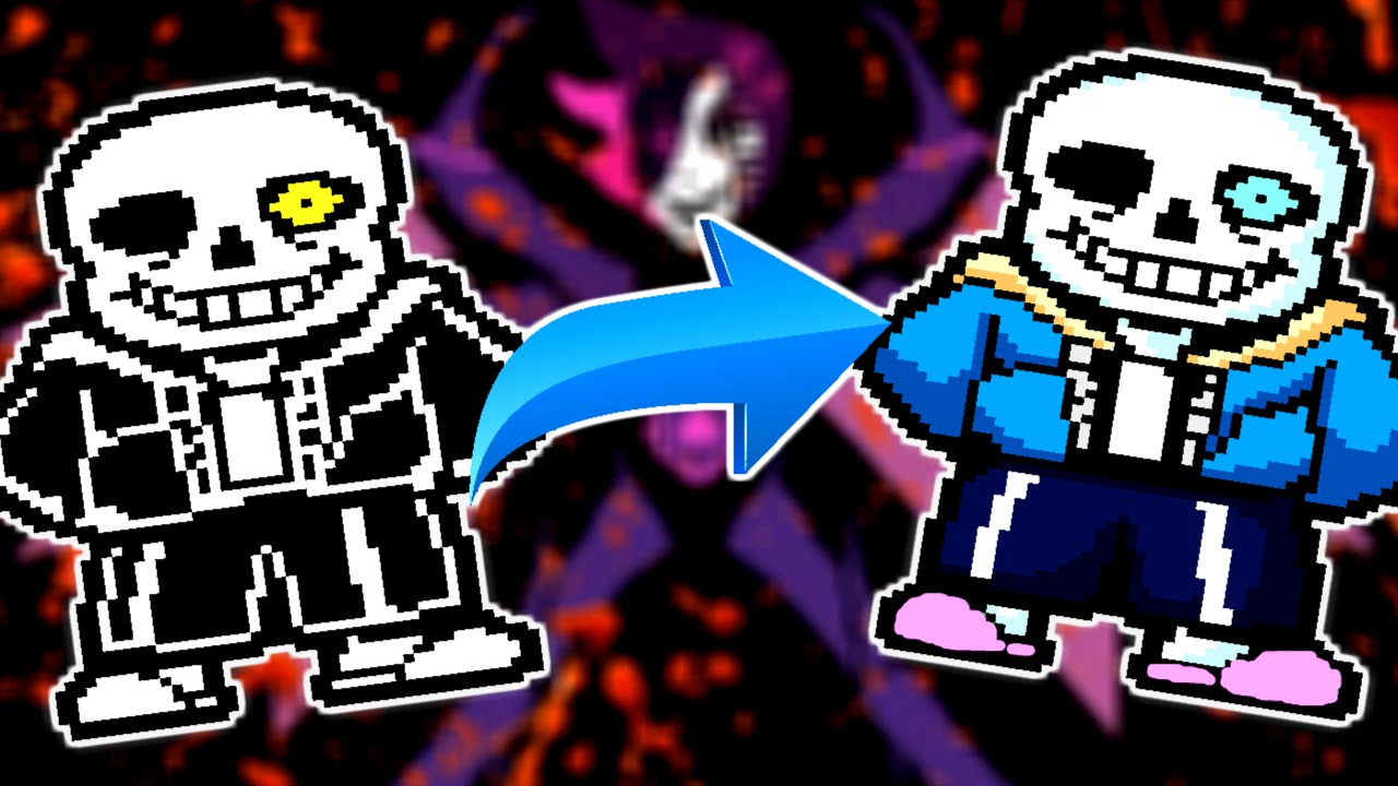 Colorful Genocide Undertale Colored Sprites Edition Mod 2