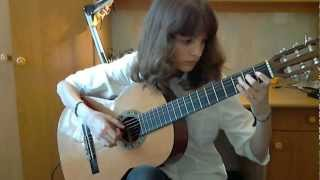 (Taylor Swift) Safe and Sound - Alina Vlasova fingerstyle guitar cover