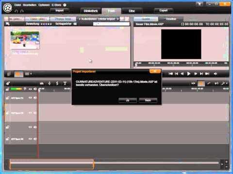 Pinnacle Studio Projekte importieren in Avid studio und Pinnacle Studio