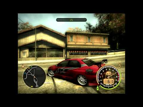 GRITS - My life be like (NFS Most Wanted - gameplay)