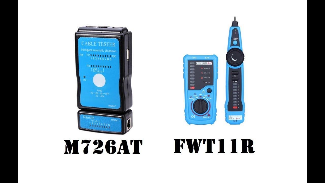 Testeur De Cables Rj45 Et Rj11 Simple Et Pro Vérifiez
