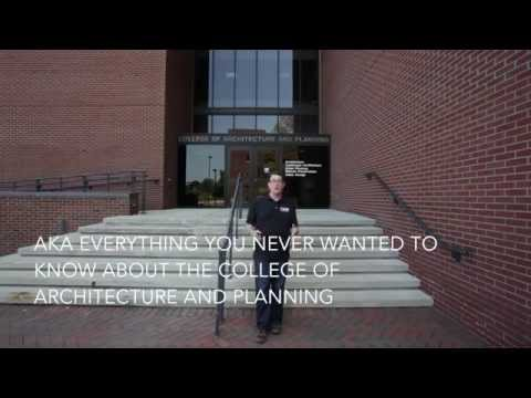 C... OLLEGE of Architecture and Planning