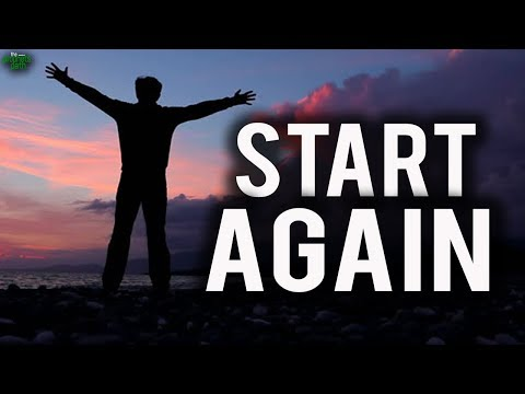 Start Again: Epic Motivational Speech