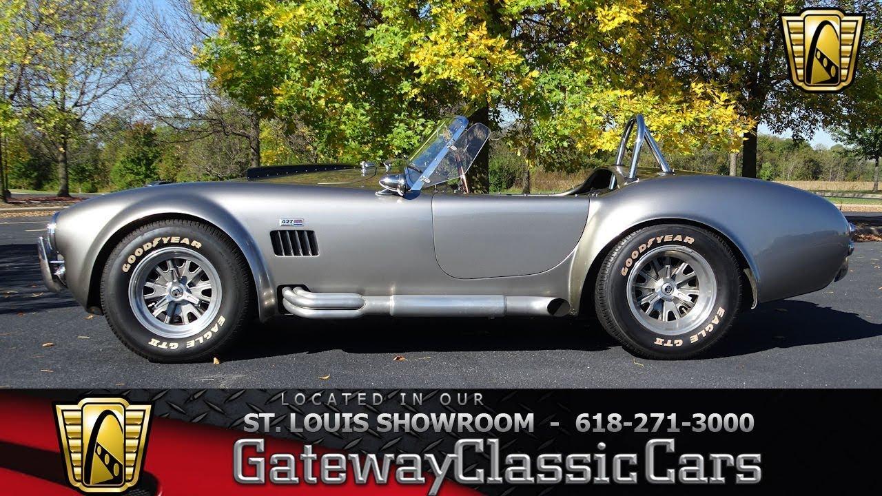 Ac Cobra Replica Superperformance Mkiii Gateway Classic Cars Of St Louis