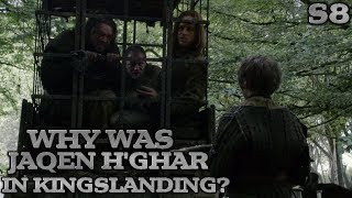 Why was Jaqen in the Black cells with Rorge and Biter? | Game of Thrones Theory | Season 8