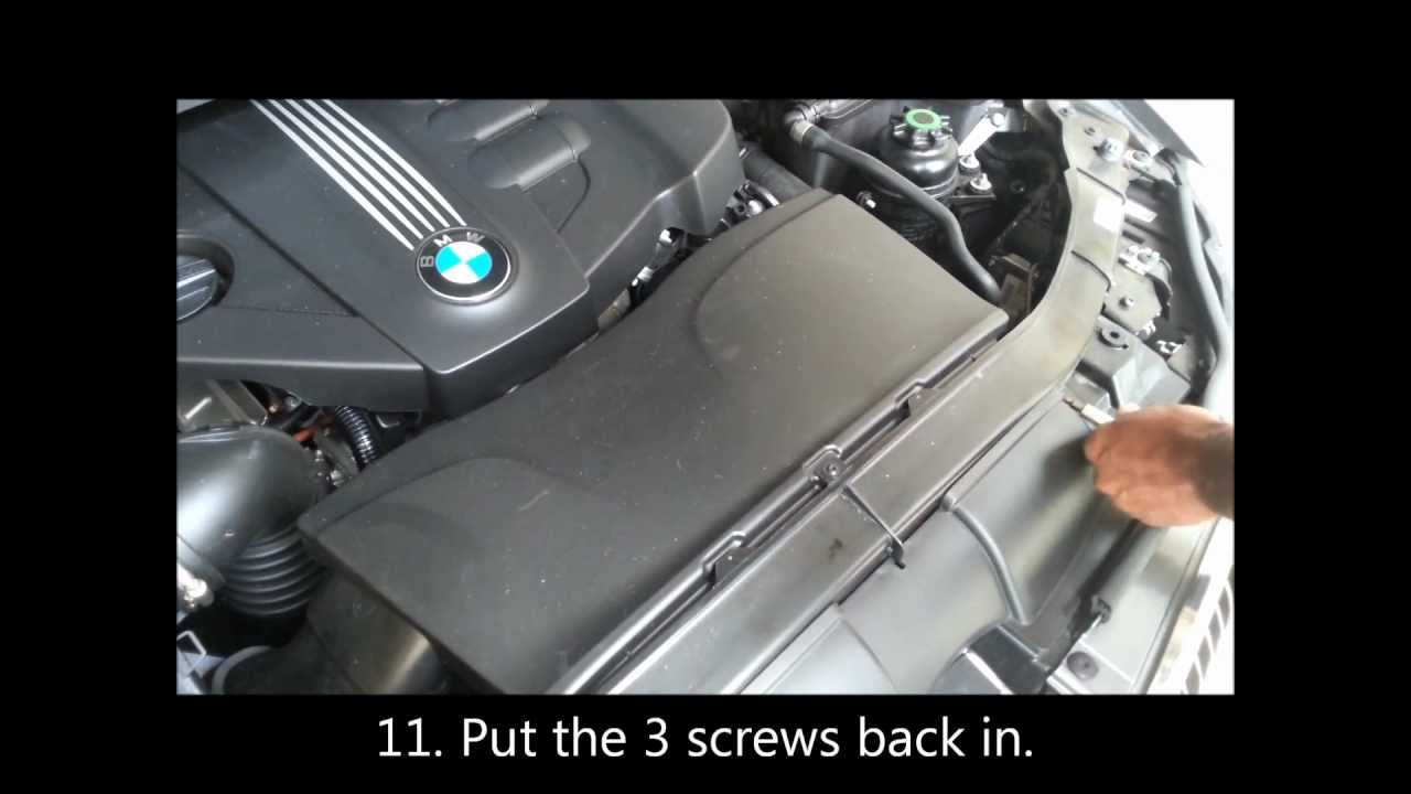 how to replace serpentine belt on a bmw 320d 2010 (e90) hd youtube No Power Steering Belt Diagram N52