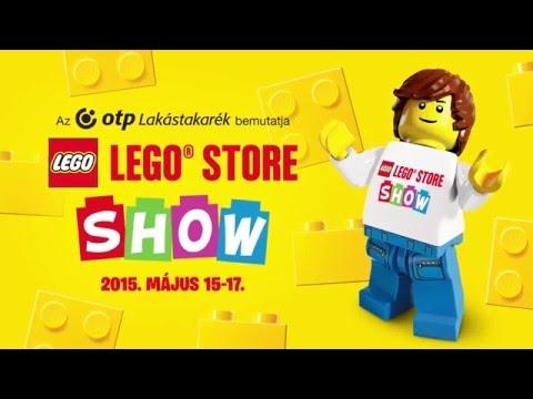 LEGO Store Budapest - LEGO Store Show - Élményvideó - YouTube 6718a9e061