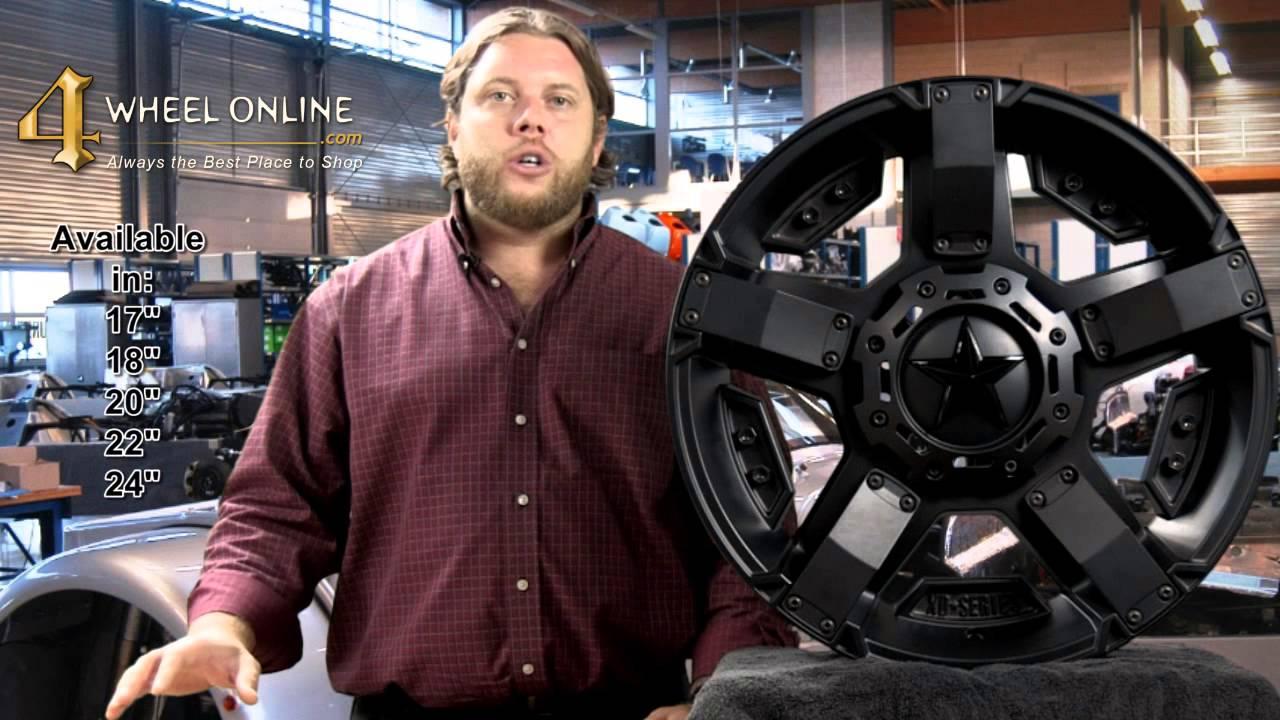 XD811 Rockstar II Black Wheels - YouTube