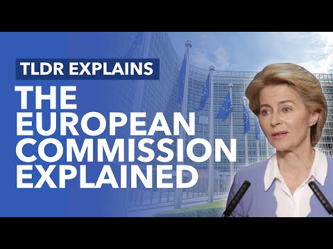 The European Commission Explained - TLDR News