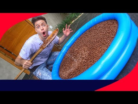 TIGELA DE CEREAL GIGANTE! (MAIOR DO MUNDO)