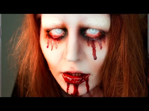 BLOODY MARY- Halloween Makeup Tutorial