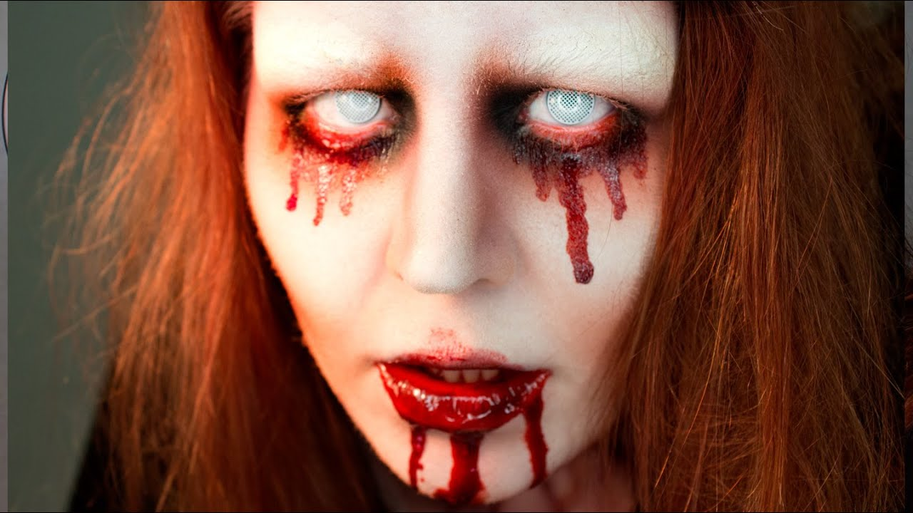 BLOODY MARY- Halloween Makeup Tutorial - YouTube