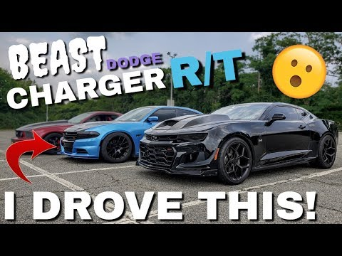 CAMARO GUY SWAPS KEYS With DODGE CHARGER RT OWNER! CAMMED Charger R/T Review!