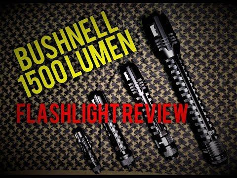 Bushnell PRO 1500 LUMEN Flashlight REVIEW