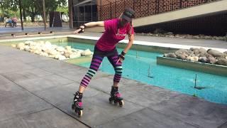Cómo frenar, derrapar y hacer derrapes en patines inlines. Freno T y Freno Powerslide
