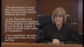 Judge Jane Fishman Discusses Small Claims County Court Cases