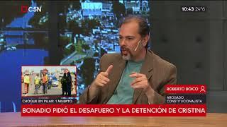 Bonadio pidió el desafuero y la detención de Cristina (Parte 2)