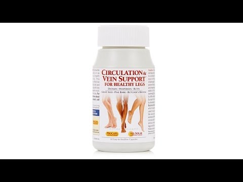 Circulation and Vein Support  60 Capsules