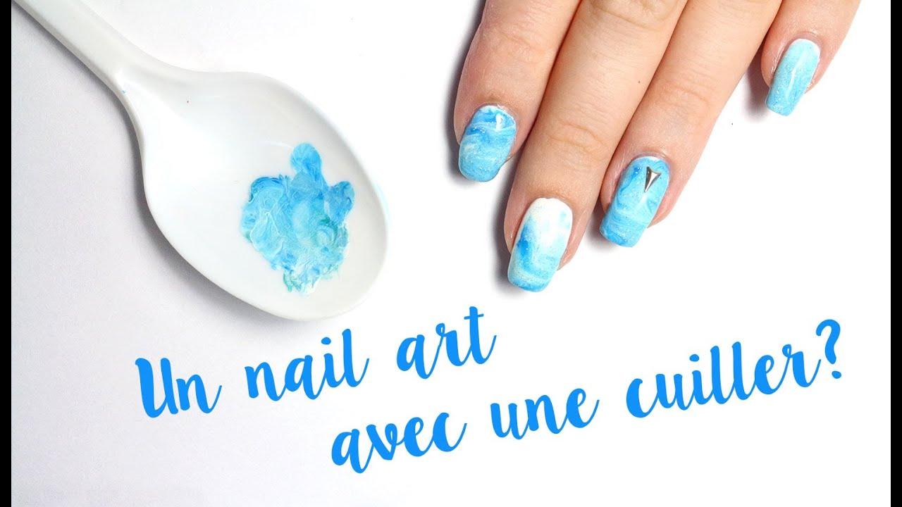 astuce pinterest : un nail art avec une cuiller? #1 - youtube
