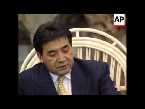 CHINA: KAZAKHSTAN PRIME MINISTER BALGIMBAEV PRESS CONFERENCE