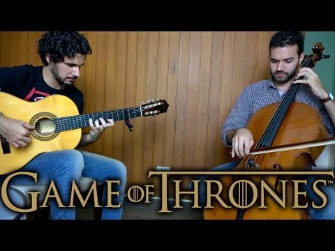 Game of Thrones theme - Fingerstyle Guitar (Marcos Kaiser) - Cello (Gustavo Girotto) #103