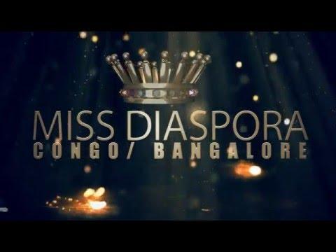 miss diaspora congo bangalore