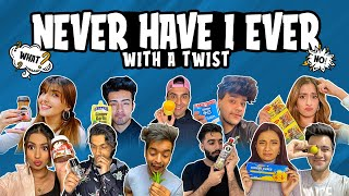 NEVER HAVE I EVER WITH A TWIST *secrets revealed*  |DAMNFAM |