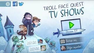 Troll Face Quest TV Shows - [ Türkçe ] Tam Çözümlü Oynanış (Android/IOS)