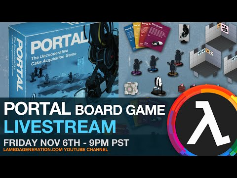 Portal Board Game Livestream (Guest hosted by Dombobomb)