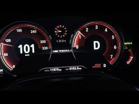BMW M760Li G12 640PS 800NM 330kmh