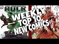 HOT TOP 10 NEW COMICS TO BUY FOR JULY 17TH - NCBD WEEKLY PICKS FOR NEW COMIC BOOKS - MARVEL and more