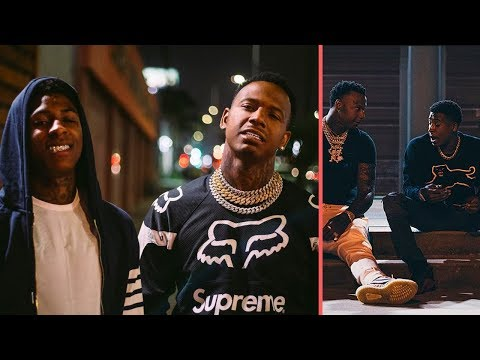 NBA YoungBoy and Moneybagg Yo Squash Beef After Seeing Each Other Fed Babys 2 Mixtape Coming? (2018)