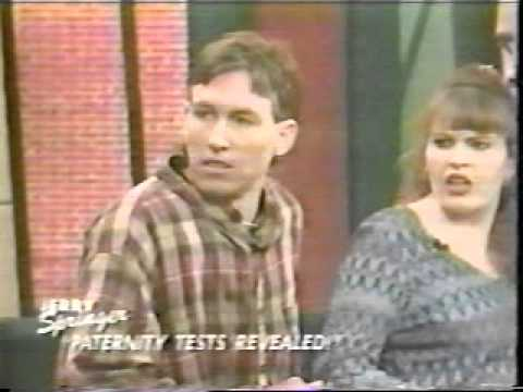 JERRY SPRINGER paternity test revealed too hot for tv !!