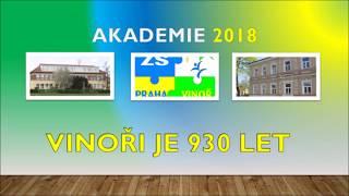 Učitelé čtvrtek  - Akademie ZŠ Vinoř 2018