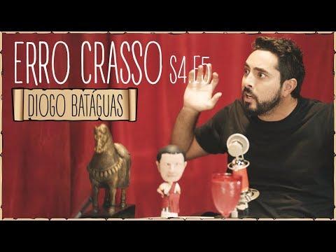 Erro Crasso T4 Ep5 - DIOGO BATÁGUAS demonstra a sua paixão sobre cerveja, futebol e Bonga.