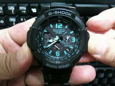 sky cockpit gw 3000 basic operation guide youtube rh youtube com G-Shock 3230 Manual casio g shock 5121 user manual