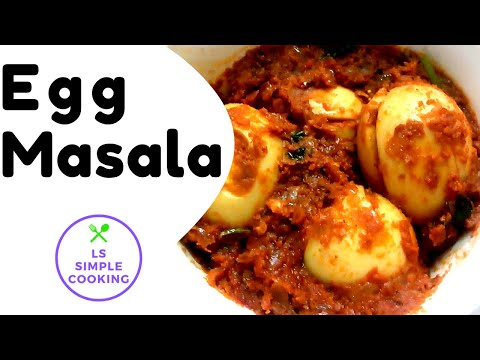 South Indian Style Egg Masala Recipe Your Videos