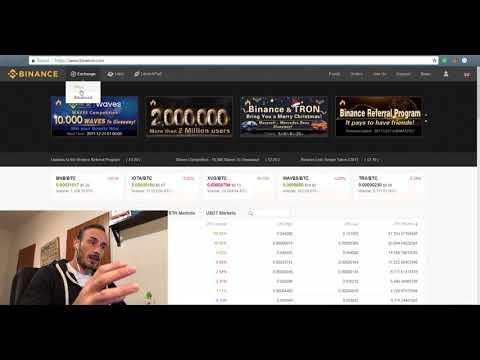Binance Tutorial - Guida All'exchange. Buy Bitcoin, Ethereum, IOTA, Cardano, Tron E Tante Altre