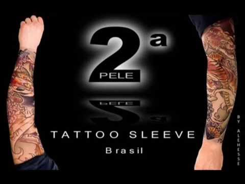 f90c8be49 Segunda Pele Tattoo de Vestir - www.tattoo-sleeve.com.br - YouTube