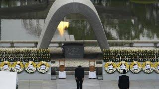 75 años de Hiroshima: el alcalde pide al Gobierno que firme el Tratado antinuclear