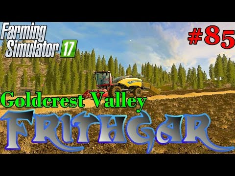Let's Play Farming Simulator 2017, Goldcrest Valley #85: Baling And Autoloading!