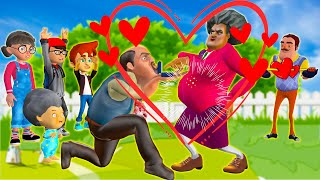 Scary Teacher 3D - Nick Love Tani | Tani is Pregnant (Part 3) !! !!! Funny Animation and The end