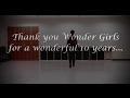 Wonder Girls (원더걸스) Dance Medley Tribute