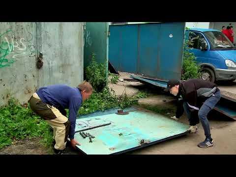 В Заволжском районе Твери ведутся работы по демонтажу незаконно установленных объектов