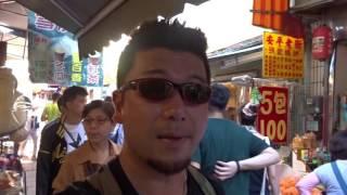 アキーラさん散策③台湾・台南・安平の古い街並み!Ampin in Tainan in Taiwan