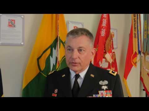 Mississippi National Guard Adjutant General Interview