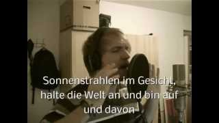 Jan Fries - Auf Und Davon (Casper Cover) + Lyrics