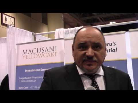 Macusani Yellowcake CEO Laurence Stefan Is Looking to Much Higher Uranium Prices in 2015 (TSX-V:YEL)