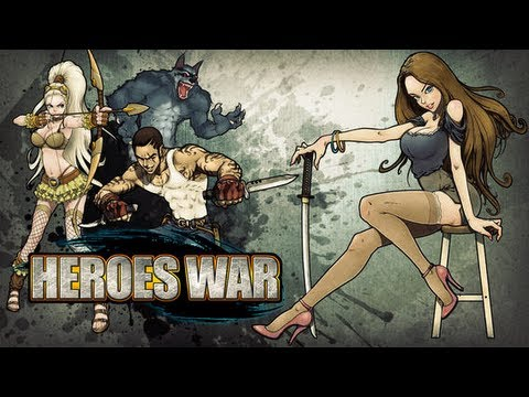 Heroes War Android Gameplay First Look