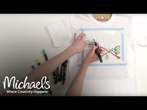 fabric-markers-and-paint-pens-|-diy-apparel-|-michaels